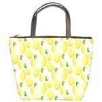 Pattern Template Lemons Yellow Bucket Bags Front