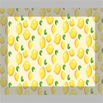 Pattern Template Lemons Yellow Canvas 10  x 8  10  x 8  x 0.875  Stretched Canvas