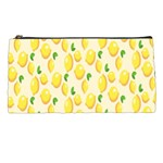 Pattern Template Lemons Yellow Pencil Cases Front