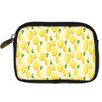 Pattern Template Lemons Yellow Digital Camera Cases Front
