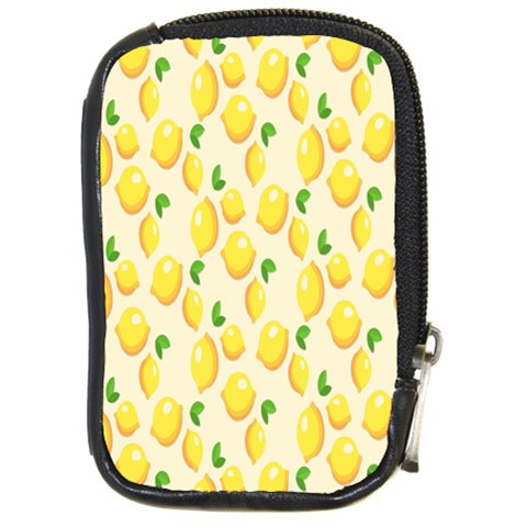 Pattern Template Lemons Yellow Compact Camera Cases