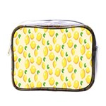 Pattern Template Lemons Yellow Mini Toiletries Bags Front