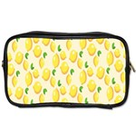 Pattern Template Lemons Yellow Toiletries Bags 2-Side Front