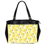 Pattern Template Lemons Yellow Office Handbags (2 Sides)  Front