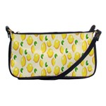 Pattern Template Lemons Yellow Shoulder Clutch Bags Front