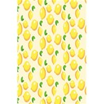 Pattern Template Lemons Yellow 5.5  x 8.5  Notebooks Back Cover Inside