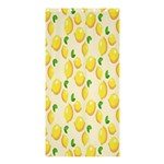 Pattern Template Lemons Yellow Shower Curtain 36  x 72  (Stall)  36 x72 Curtain