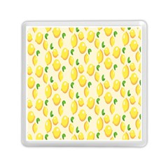 Pattern Template Lemons Yellow Memory Card Reader (Square)