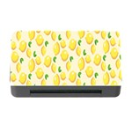 Pattern Template Lemons Yellow Memory Card Reader with CF Front