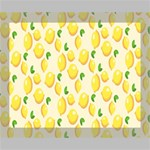 Pattern Template Lemons Yellow Deluxe Canvas 20  x 16   20  x 16  x 1.5  Stretched Canvas