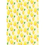 Pattern Template Lemons Yellow Heart 3D Greeting Card (7x5) Inside