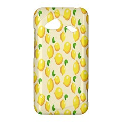 Pattern Template Lemons Yellow HTC Droid Incredible 4G LTE Hardshell Case