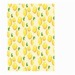 Pattern Template Lemons Yellow Large Garden Flag (Two Sides) Back