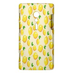 Pattern Template Lemons Yellow Sony Xperia ion