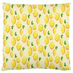 Pattern Template Lemons Yellow Large Cushion Case (Two Sides) Front
