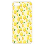 Pattern Template Lemons Yellow Apple iPhone 5 Seamless Case (White) Front