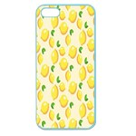 Pattern Template Lemons Yellow Apple Seamless iPhone 5 Case (Color) Front