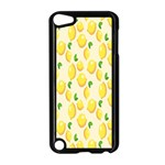 Pattern Template Lemons Yellow Apple iPod Touch 5 Case (Black) Front