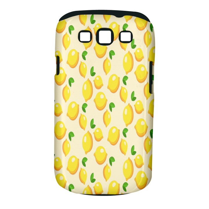 Pattern Template Lemons Yellow Samsung Galaxy S III Classic Hardshell Case (PC+Silicone)