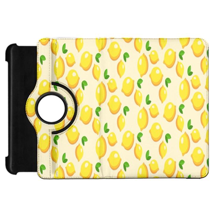 Pattern Template Lemons Yellow Kindle Fire HD Flip 360 Case
