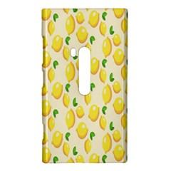 Pattern Template Lemons Yellow Nokia Lumia 920