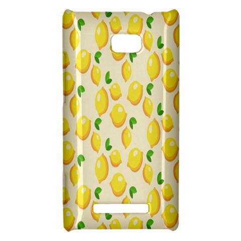 Pattern Template Lemons Yellow HTC 8X