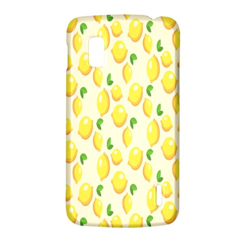 Pattern Template Lemons Yellow LG Nexus 4