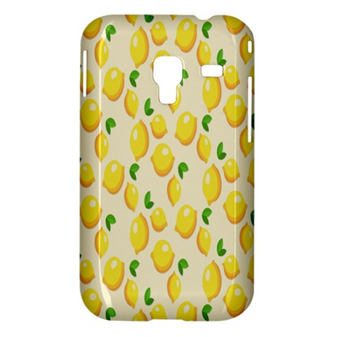 Pattern Template Lemons Yellow Samsung Galaxy Ace Plus S7500 Hardshell Case