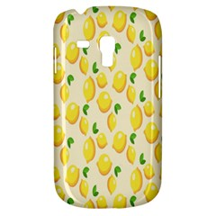 Pattern Template Lemons Yellow Samsung Galaxy S3 MINI I8190 Hardshell Case