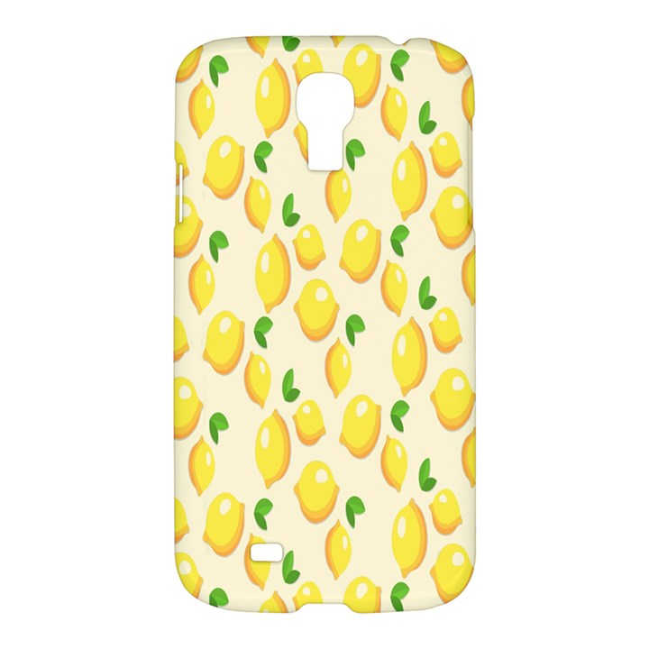 Pattern Template Lemons Yellow Samsung Galaxy S4 I9500/I9505 Hardshell Case
