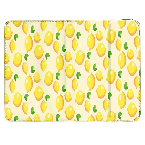 Pattern Template Lemons Yellow Samsung Galaxy Tab 7  P1000 Flip Case