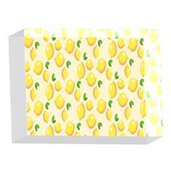Pattern Template Lemons Yellow 5 x 7  Acrylic Photo Blocks
