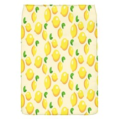 Pattern Template Lemons Yellow Flap Covers (S)