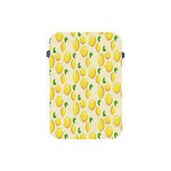 Pattern Template Lemons Yellow Apple iPad Mini Protective Soft Cases