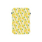 Pattern Template Lemons Yellow Apple iPad Mini Protective Soft Cases Front