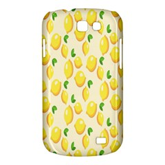 Pattern Template Lemons Yellow Samsung Galaxy Express I8730 Hardshell Case