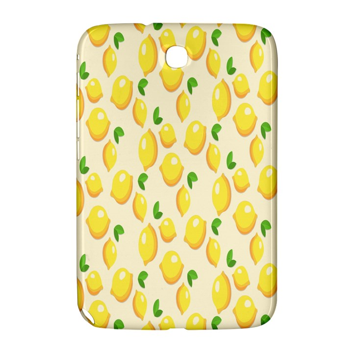 Pattern Template Lemons Yellow Samsung Galaxy Note 8.0 N5100 Hardshell Case