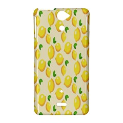 Pattern Template Lemons Yellow Sony Xperia V