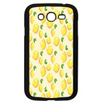 Pattern Template Lemons Yellow Samsung Galaxy Grand DUOS I9082 Case (Black) Front