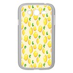 Pattern Template Lemons Yellow Samsung Galaxy Grand DUOS I9082 Case (White) Front
