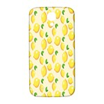 Pattern Template Lemons Yellow Samsung Galaxy S4 I9500/I9505  Hardshell Back Case Front