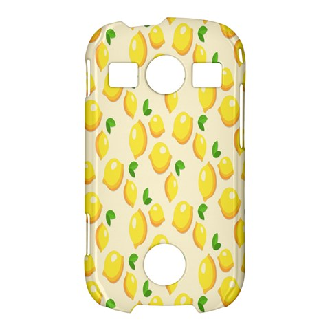 Pattern Template Lemons Yellow Samsung Galaxy S7710 Xcover 2 Hardshell Case