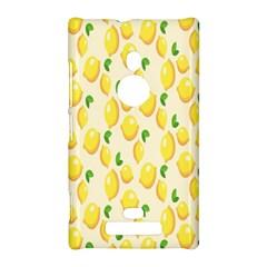 Pattern Template Lemons Yellow Nokia Lumia 925