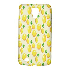 Pattern Template Lemons Yellow Galaxy S4 Active