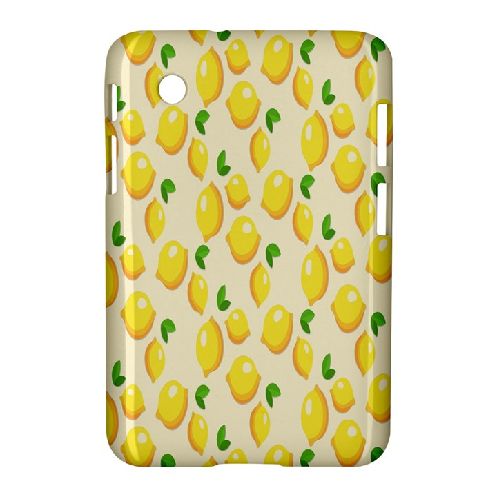 Pattern Template Lemons Yellow Samsung Galaxy Tab 2 (7 ) P3100 Hardshell Case