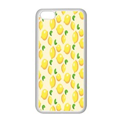 Pattern Template Lemons Yellow Apple iPhone 5C Seamless Case (White)