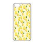 Pattern Template Lemons Yellow Apple iPhone 5C Seamless Case (White) Front