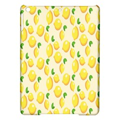 Pattern Template Lemons Yellow iPad Air Hardshell Cases
