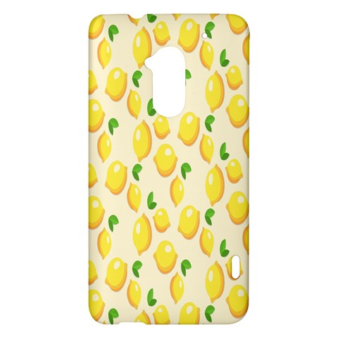 Pattern Template Lemons Yellow HTC One Max (T6) Hardshell Case