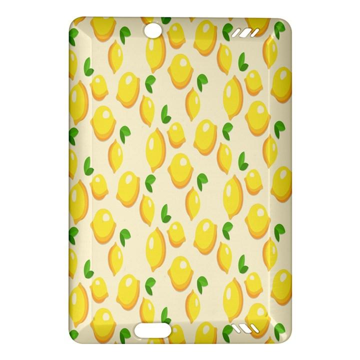 Pattern Template Lemons Yellow Amazon Kindle Fire HD (2013) Hardshell Case